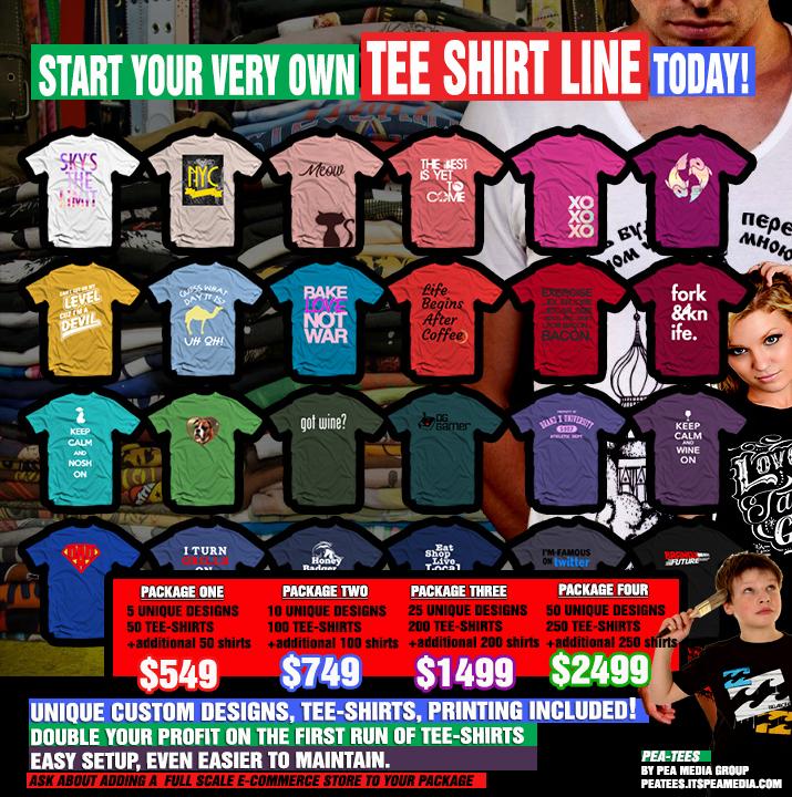 start t shirt business
